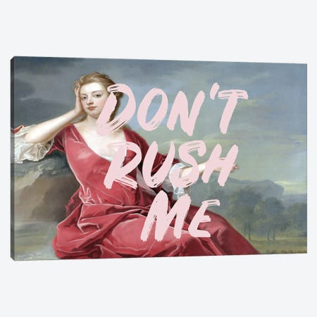 Don't Rush Me III Canvas Print #RAB314} by Ruby and B Canvas Print