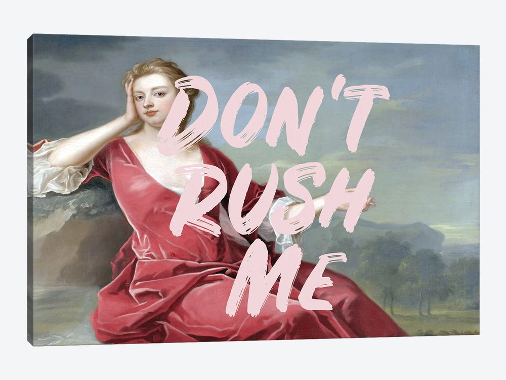 Don't Rush Me III by Ruby and B 1-piece Canvas Art