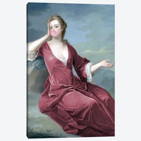 Bubblegum Duchess Canvas Print #RAB320} by Ruby and B Art Print