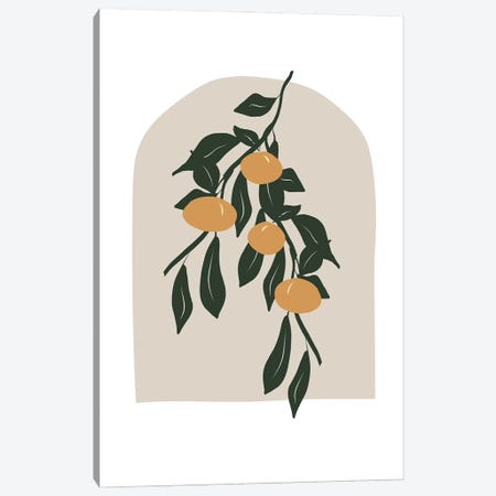 Citrus Canvas Print #RAB325} by Ruby and B Canvas Art