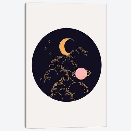Celestial Circle Canvas Print #RAB336} by Ruby and B Canvas Print