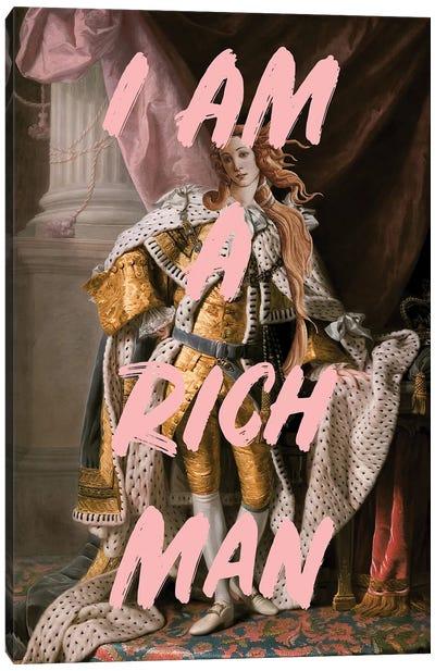 Rich Man Canvas Art Print