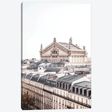 Paris View Of The Opera Canvas Print #RAB351} by Ruby and B Canvas Wall Art