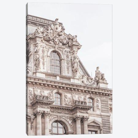 Paris Building Detail Canvas Print #RAB352} by Ruby and B Canvas Artwork