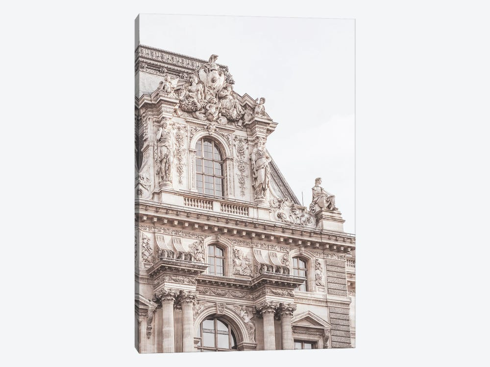 Paris Building Detail by Ruby and B 1-piece Canvas Art