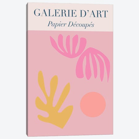 Cut-Out Papier Decoupes Canvas Print #RAB379} by Ruby and B Canvas Art