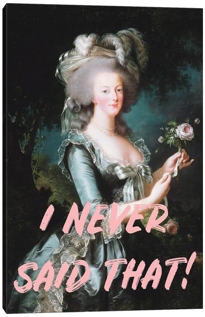 Marie Antoinette Altered Art Canvas Art Print
