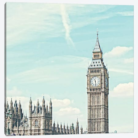 London Westminster View II Canvas Print #RAB38} by Ruby and B Canvas Art Print