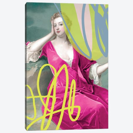 Abstract Duchess Canvas Print #RAB397} by Ruby and B Canvas Art Print