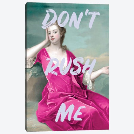 Don't Rush Me Duchess - Maximalist Canvas Print #RAB398} by Ruby and B Canvas Art