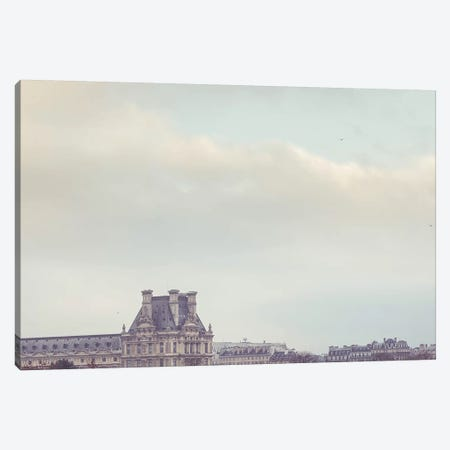 Louvre Paris Canvas Print #RAB39} by Ruby and B Canvas Art Print
