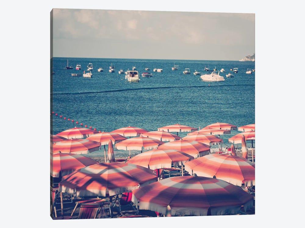 Amalfi Beach by Ruby and B 1-piece Canvas Art Print