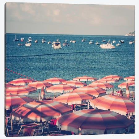 Amalfi Beach Canvas Print #RAB3} by Ruby and B Canvas Art