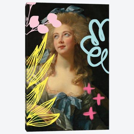 Graffiti Madame II Canvas Print #RAB403} by Ruby and B Canvas Artwork