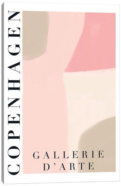 Copenhagen Modern Art Canvas Art Print