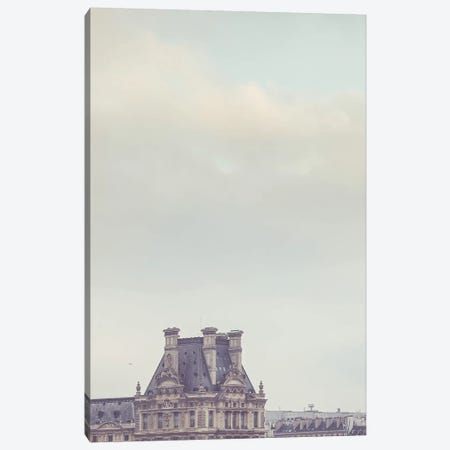 Louvre Paris II Canvas Print #RAB40} by Ruby and B Canvas Wall Art