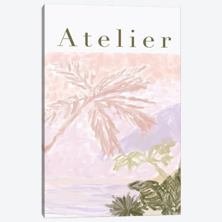 Atelier Jungle Painting Canvas Print #RAB423} by Ruby and B Canvas Art