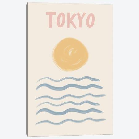 Tokyo Pastels Canvas Print #RAB430} by Ruby and B Art Print
