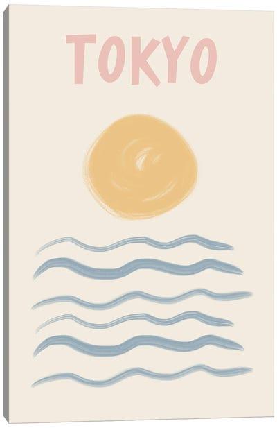 Tokyo Pastels Canvas Art Print