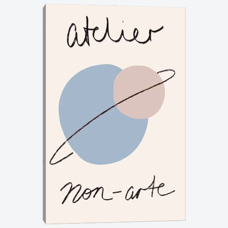 Atelier Illustrated Exhibition Art Canvas Print #RAB432} by Ruby and B Canvas Art Print