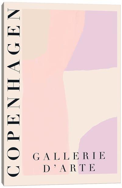 Pastel Copenhagen Modern Art Canvas Art Print