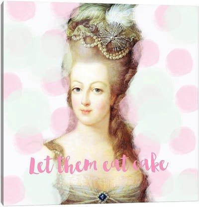 Marie Antoinette Mint Pink Canvas Art Print