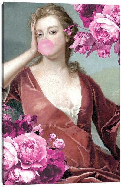 Bubble Gum Portrait XXII Canvas Art Print
