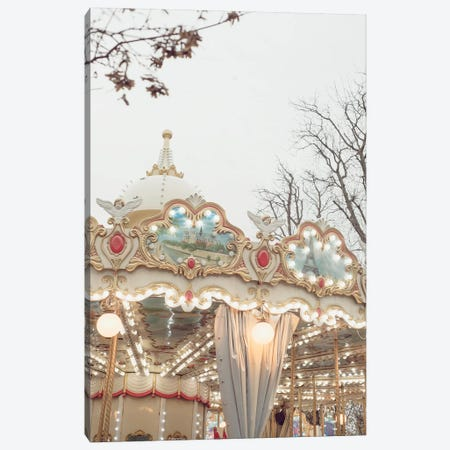 Merry Go Round Tuileries Canvas Print #RAB47} by Ruby and B Canvas Art Print