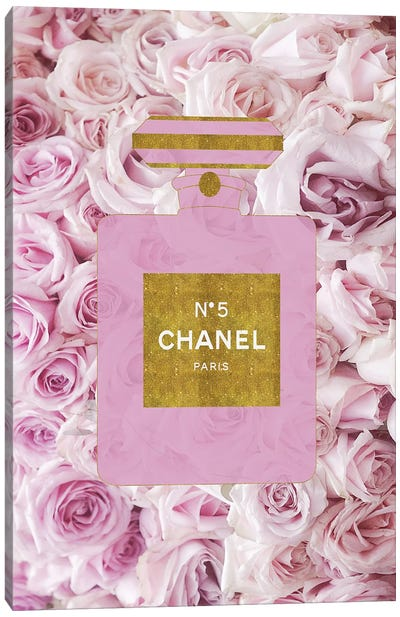 Perfume And Roses Canvas Art Print