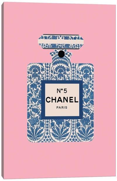 Decorated Perfume Bottle Canvas Art Print