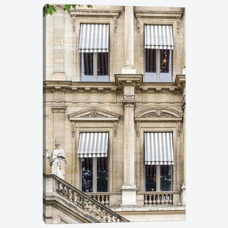 Paris Awning II Canvas Print #RAB52} by Ruby and B Canvas Print
