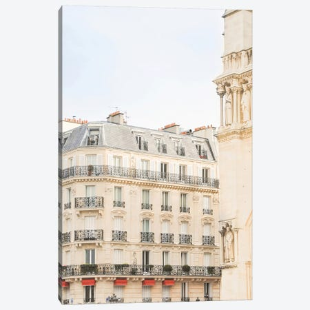 Paris Notre Dame Canvas Print #RAB56} by Ruby and B Canvas Art