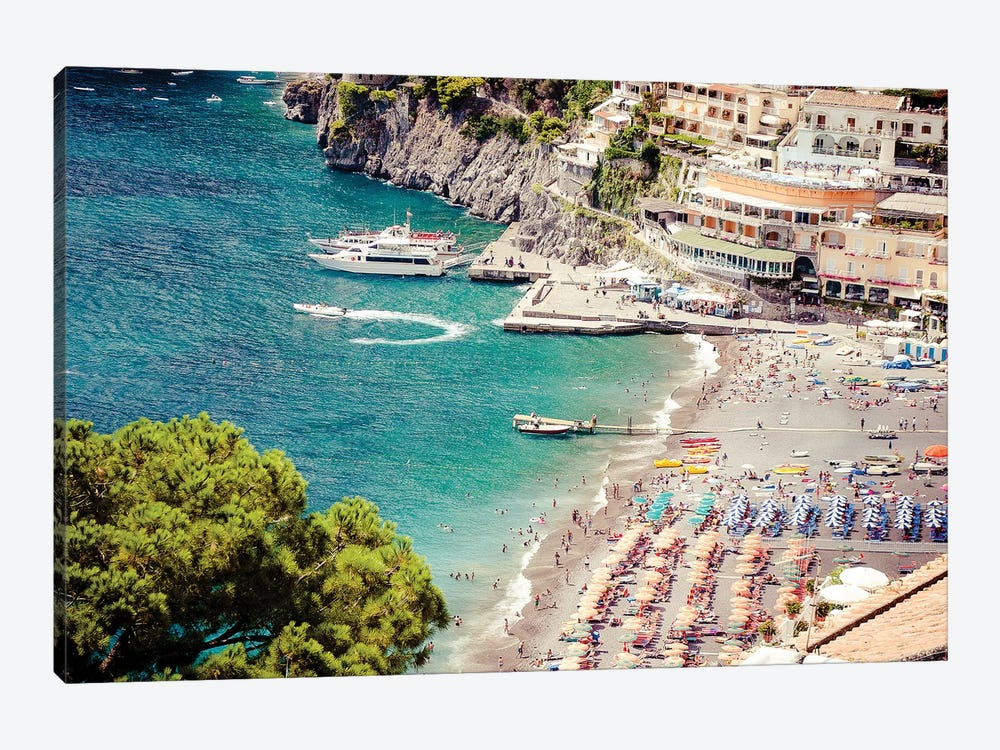 Positano View by Ruby and B 1-piece Art Print