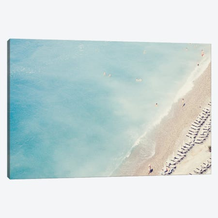 Riviera Blues Canvas Print #RAB66} by Ruby and B Canvas Print