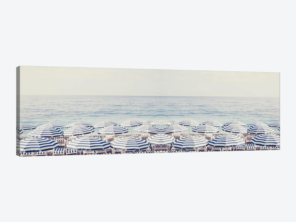 Riviera Dreaming Panorama by Ruby and B 1-piece Canvas Print