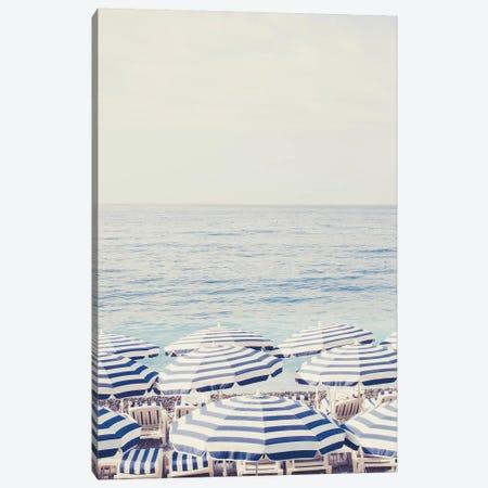 Riviera Umbrellas Canvas Print #RAB69} by Ruby and B Canvas Wall Art
