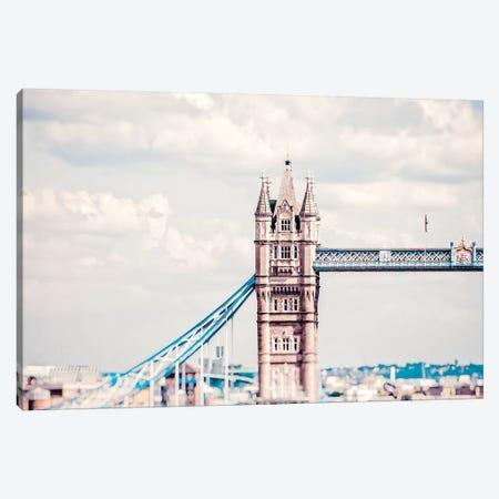 Tower Bridge Morning Canvas Print #RAB75} by Ruby and B Canvas Wall Art