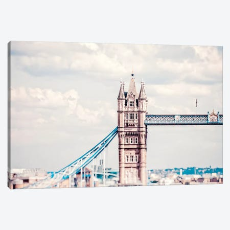 Tower Bridge Morning Canvas Print #RAB75} by Ruby and B Canvas Wall Art
