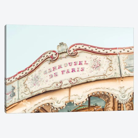 Carousel Dreams Canvas Print #RAB78} by Ruby and B Canvas Print