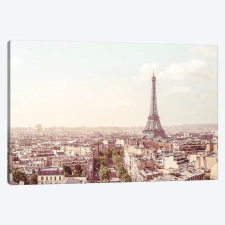 Paris Eiffel Tower Canvas Print #RAB83} by Ruby and B Canvas Wall Art