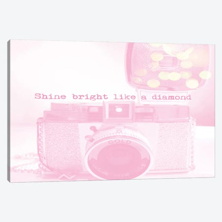 Shine Bright Canvas Print #RAB84} by Ruby and B Canvas Print