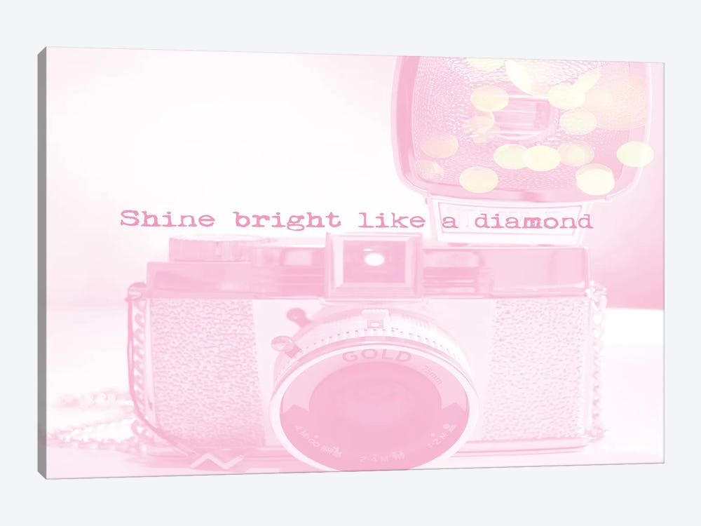 Shine Bright by Ruby and B 1-piece Canvas Art