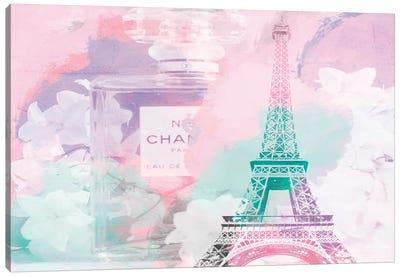 Perfume Pink Green Canvas Art Print