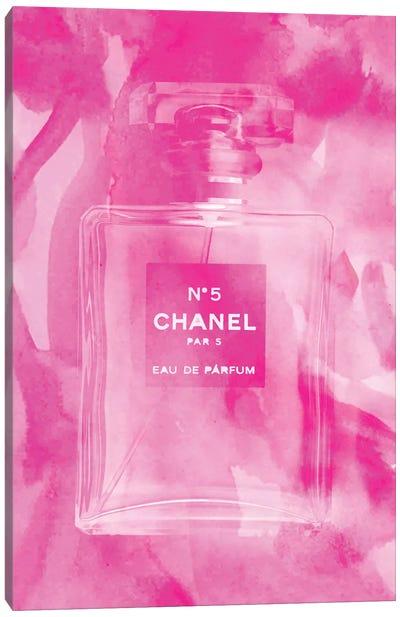 Pink Perfume Canvas Art Print