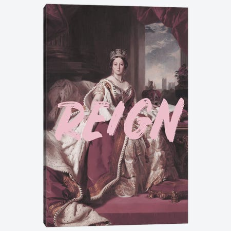 Queen Victoria Reign Canvas Print #RAB98} by Ruby and B Canvas Print