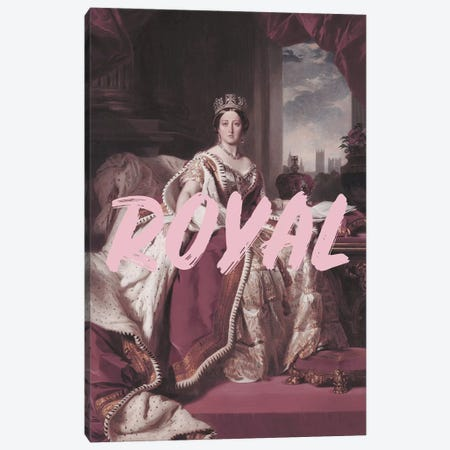 Queen Victoria Royal Canvas Print #RAB99} by Ruby and B Canvas Art Print