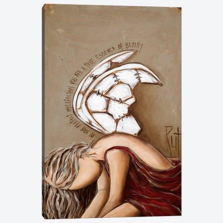 Essence Of Beauty Canvas Print #RAC16} by Rut Art Creations Art Print