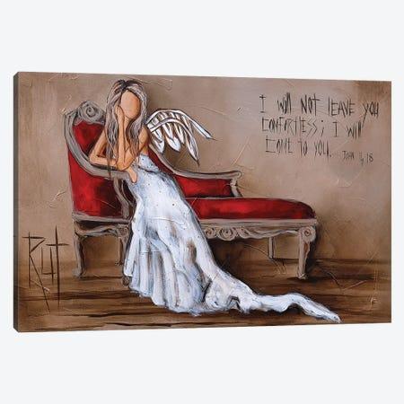 John 4:18 Canvas Print #RAC17} by Rut Art Creations Canvas Art Print
