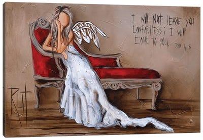 John 4:18 Canvas Art Print