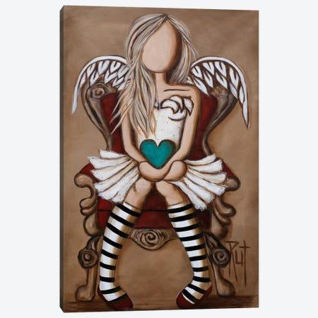 Colette Canvas Print #RAC1} by Rut Art Creations Art Print